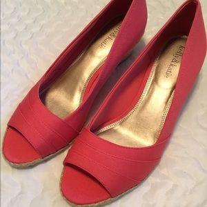 Kelly & Katie Wedge slip on shoes